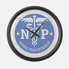 Caduceus NP (rd) Large Wall Clock