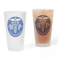 Caduceus NP (rd) Drinking Glass