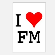 I Love FM Postcards (Package of 8)