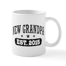 New Grandpa Est. 2015 Small Small Mug