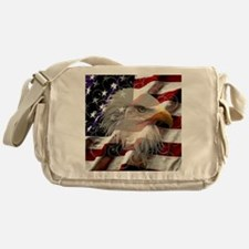 American Eagle Flag Messenger Bag