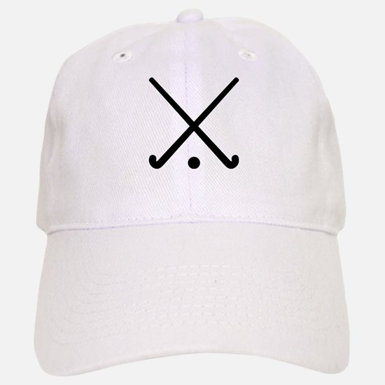 Crossed Field hockey clubs Baseball Baseball Cap