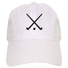 Crossed Field hockey clubs Baseball Cap