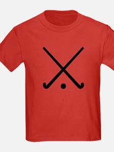 Crossed Field hockey clubs T