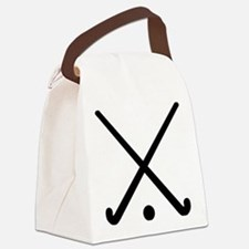 Crossed Field hockey clubs Canvas Lunch Bag