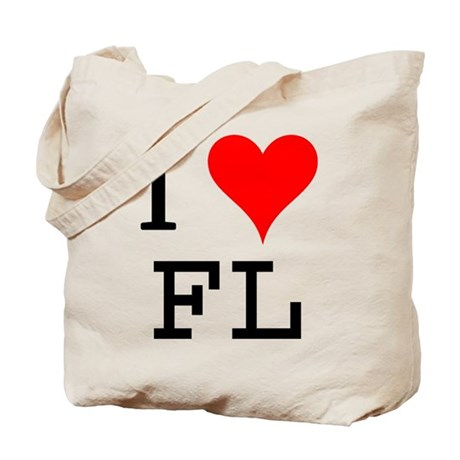 I Love FL Tote Bag