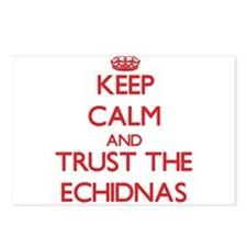 Keep calm and Trust the Echidnas Postcards (Packag