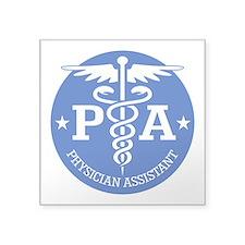 Caduceus PA (rd) Sticker