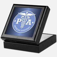 Caduceus PA (rd) Keepsake Box
