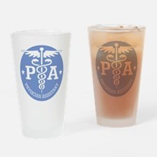 Caduceus PA (rd) Drinking Glass