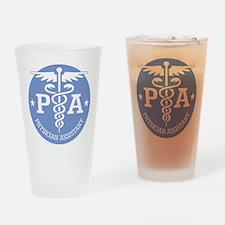 Caduceus PA (rd) Drinking Glass