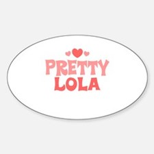 Lola Oval Decal
