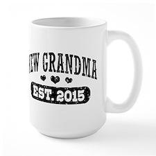 New Grandma Est. 2015 Mug