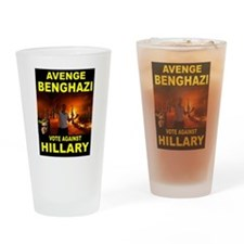 HILLARY SLEEPING Drinking Glass