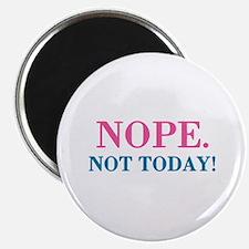 "Nope, Funny Humor 2.25"" Magnet (100 pack)"