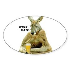 Cute Kangaroo Decal
