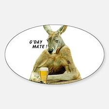 Cute Australia Sticker (Oval)