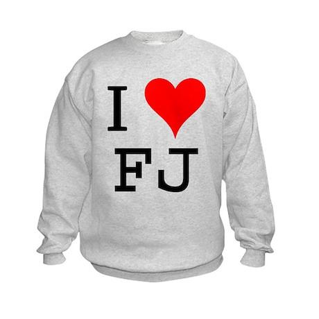 I Love FJ Kids Sweatshirt