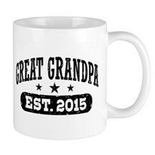 Great Grandpa Est. 2015 Small Mug