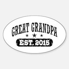Great Grandpa Est. 2015 Decal
