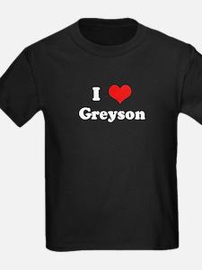 I Love Greyson T