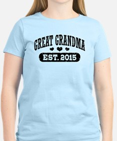 Great Grandma Est. 2015 T-Shirt