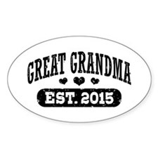 Great Grandma Est. 2015 Decal