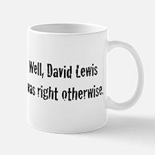 David Lewis Mug