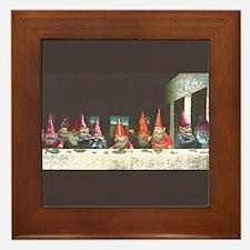 Gnome Last Supper Framed Tile