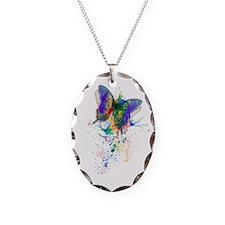 Butterfly splatter Necklace