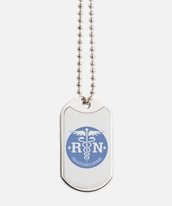Caduceus RN 2 Dog Tags