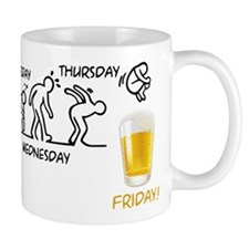 Beer-volution (eng) Mugs