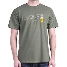 Beer-volution (eng) T-Shirt