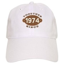 1974 Wedding Anniversary Cap