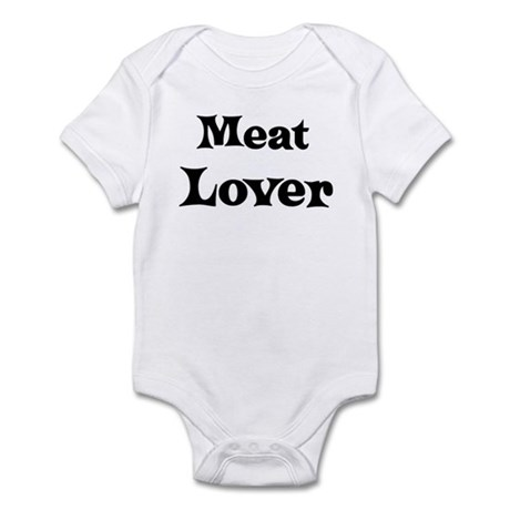Meat lover Infant Bodysuit