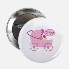 "Its A Girl! 2.25"" Button (10 pack)"