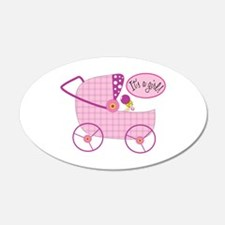 Its A Girl! Wall Decal