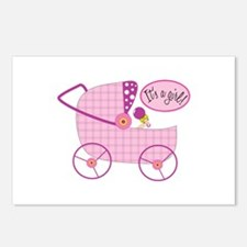 Its A Girl! Postcards (Package of 8)