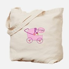 Its A Girl! Tote Bag