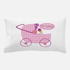 Its A Girl! Pillow Case
