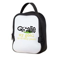 My Goal Is To Deny Yours Neoprene Lunch Bag