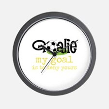 My Goal Is To Deny Yours Wall Clock
