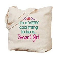 Cool to be a Smart Girl Tote Bag