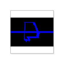 alabama thin blue line no grey 1 Sticker