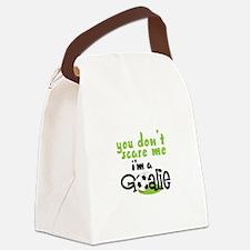 Im A Goalie Canvas Lunch Bag
