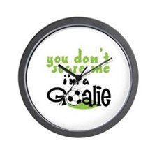 Im A Goalie Wall Clock
