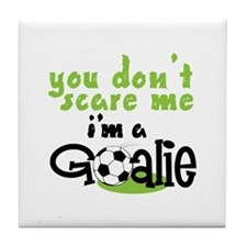 Im A Goalie Tile Coaster