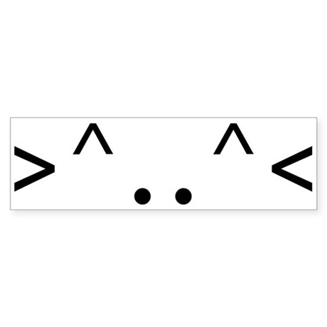 < KITTY > CODE Bumper Sticker