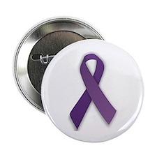 Lupus Awareness Ribbon Button