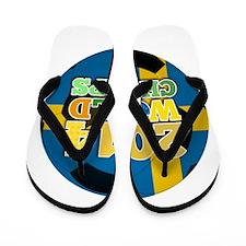 2014 World Champs Ball - Sweden Flip Flops